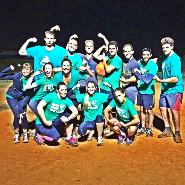 SnackNation office kickball league