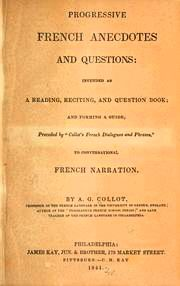 Catalog record: progressive french dialogue and phrases :... Progressive pronouncing French readers on