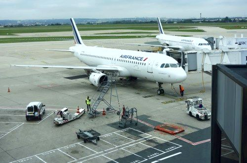 Airport Air france Paris