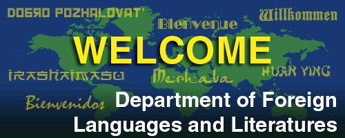 Department of other languages research and teaching activities