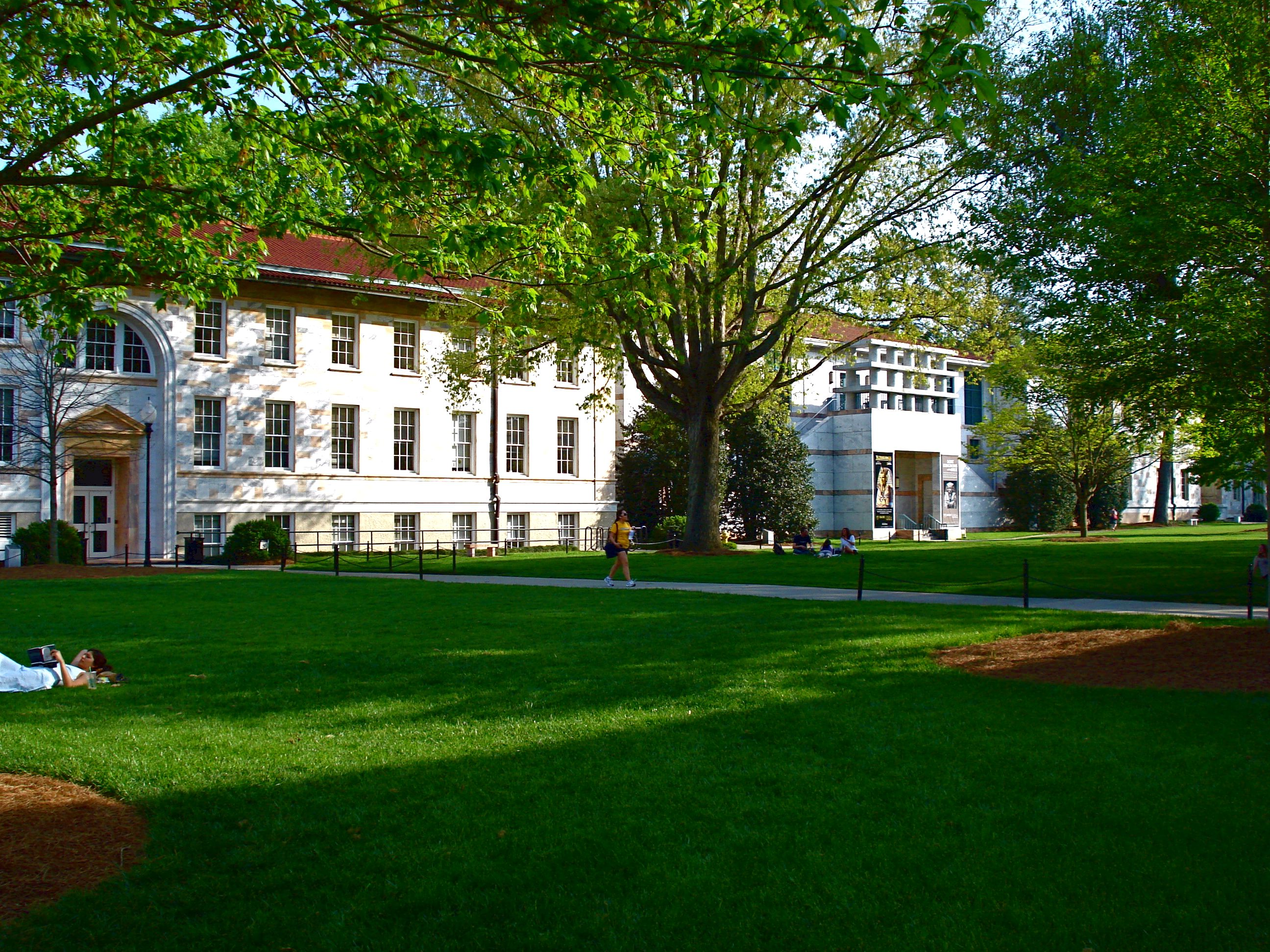 Emory college College, like