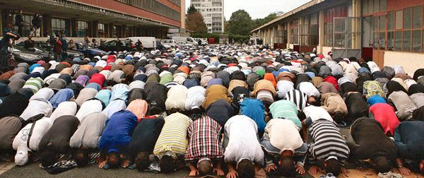 Existence like a muslim in paris Muslim world abound