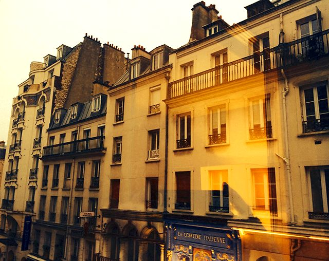 Scenery in Paris, France