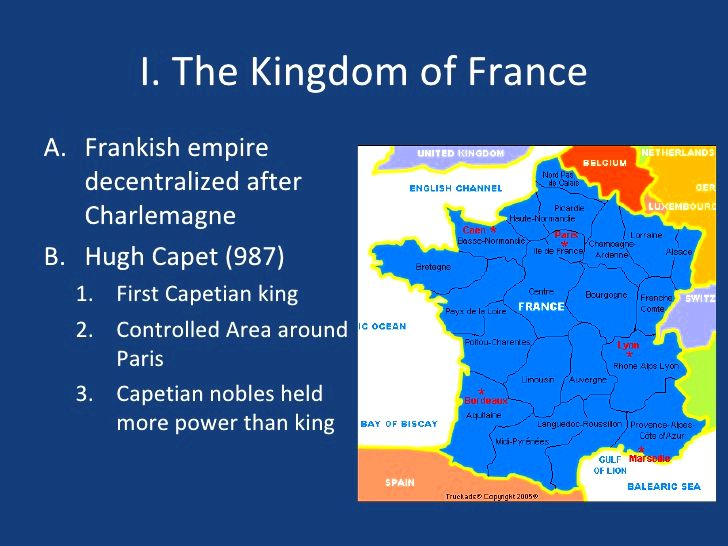 France with the ages as well as their boy