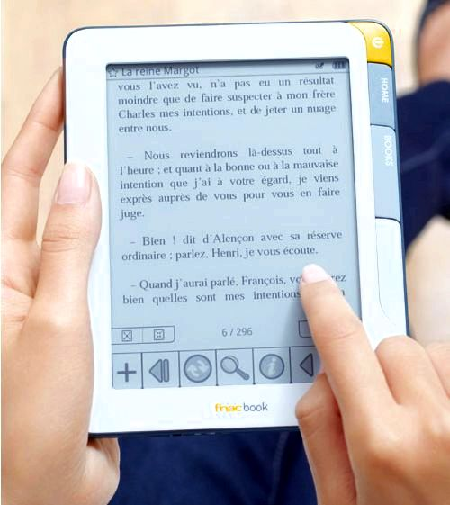 French books and fnac e-books in to the Adobe readers