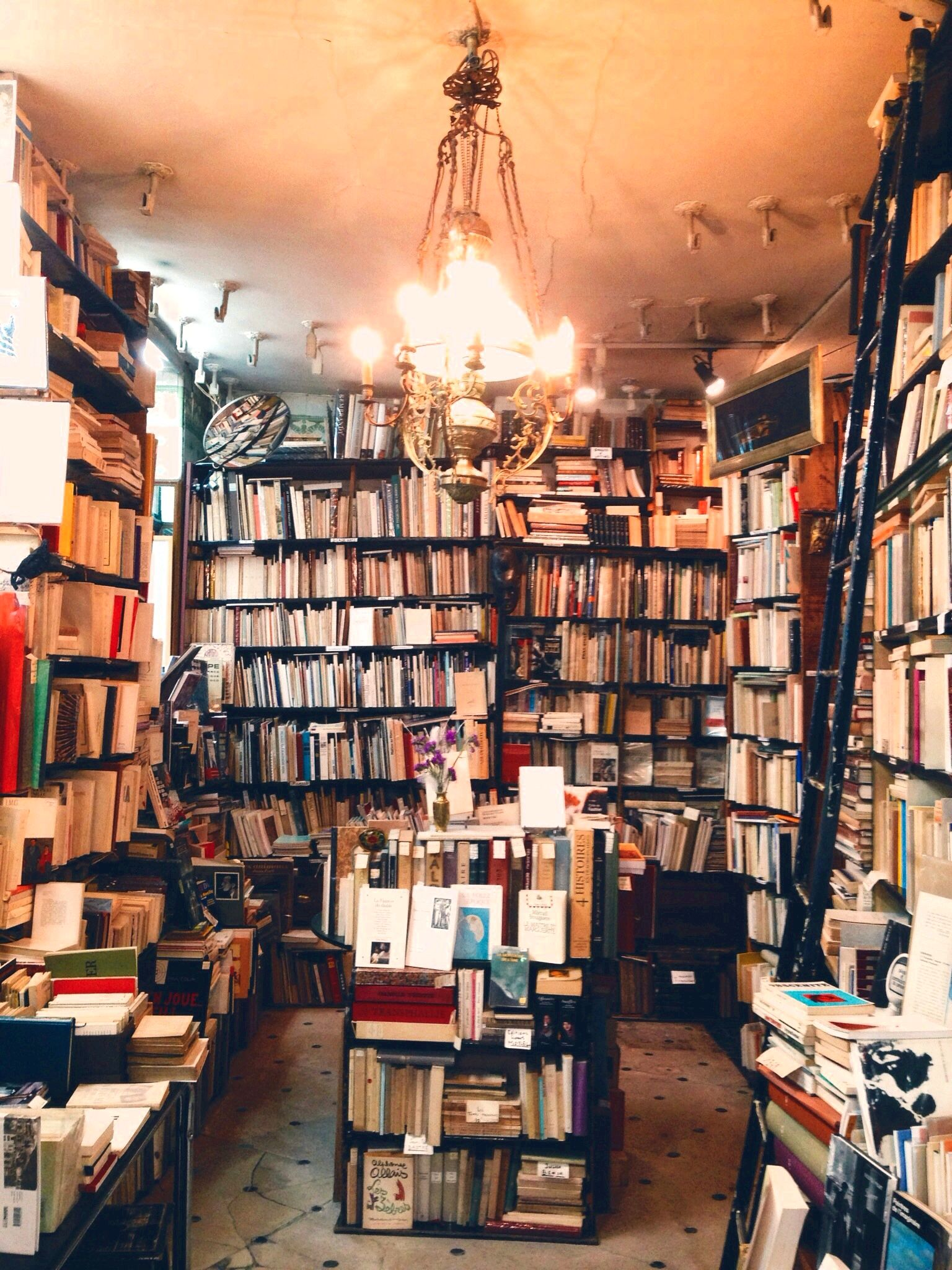 French corners at book shops Make sure to uncover the