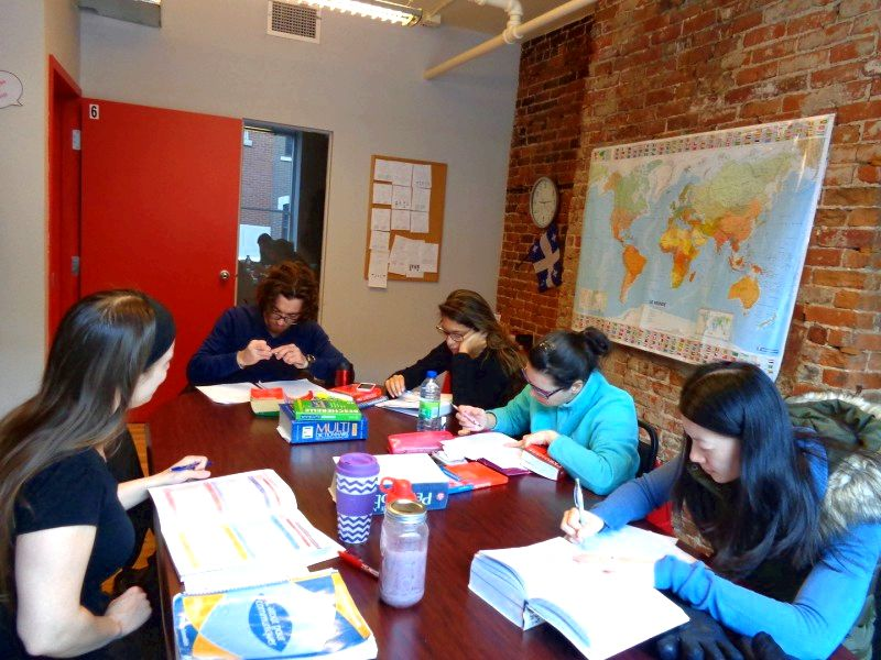 French courses in quebec at bouchereau lingua worldwide (bli). the amount of students
