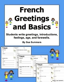 French greetings & introductions Comment vous