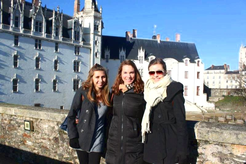 French language programs - study abroad enter in the attractive Loire