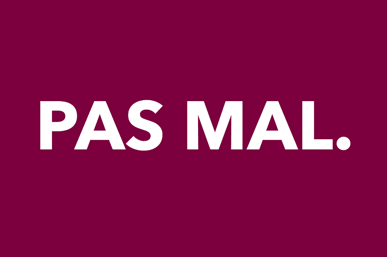 I got Pas mal.. French Possessive Adjectives Quiz