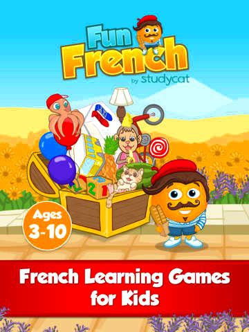 Fun french: learning games for children ages 3-10 to understand to see, speak & spell around the application store Helps your son or