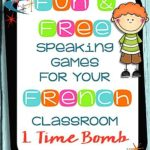 Fun speaking games for the french classroom: time explosive device – for french immersion