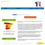 Learn french online using these free french training
