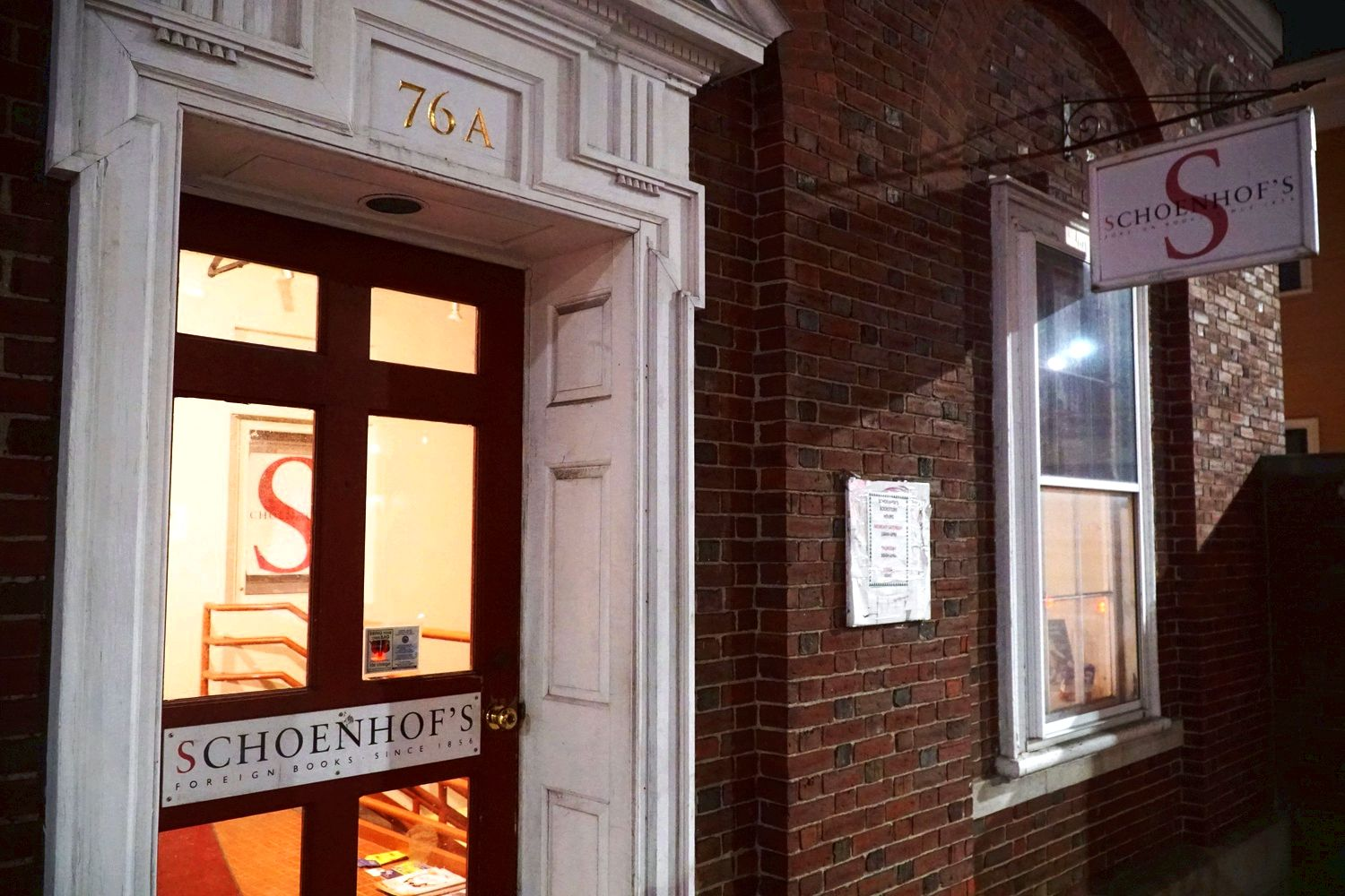 Schoenhof's foreign books to shut brick-and-mortar store right into