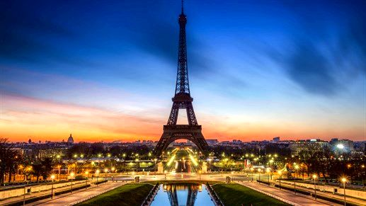 See the Eiffel Tower in Paris