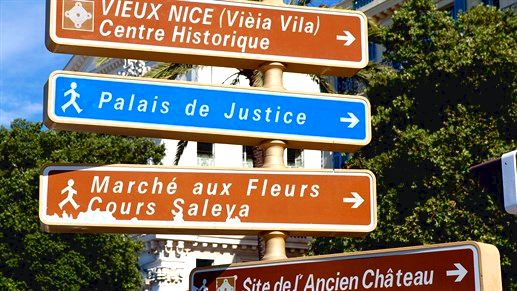 Walk the streets of Nice